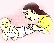 Image of Child making sound