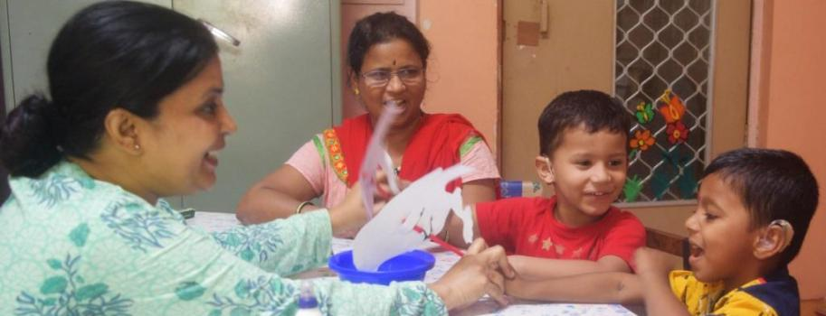 Early intervention of children with Hearing Impairment