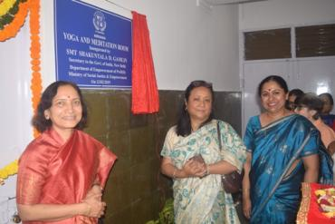 Inauguration of Yoga & Meditation facility