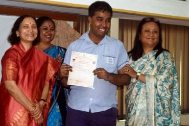 Distribution of NIOS certificate