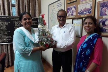 Farewell to Mr.R Bhattacharya on his retirement from service