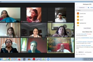 Webinar and Expert Panel Discussion - Beyond Covid- Rethinking and adapting classrooms, curricula and emotional wellness for children held on 26th June 2020