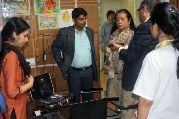 Secretary's visit