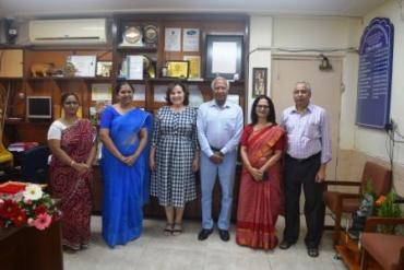 Visit of Padma Shri awardee Mr. Khalid A. H. Ansari