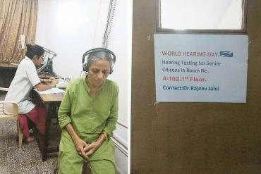 Services on World Hearing Day- Hearing testing for senior citizens