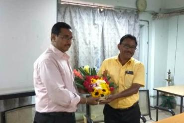 Farewell to Mr. Dilip Kumar Shaw (R.C. Kolkata) on his retirement on 29 March 2019