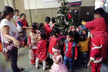 Christmas Celebration 2019 organized by dept. of Education, AYJNISHD(D)