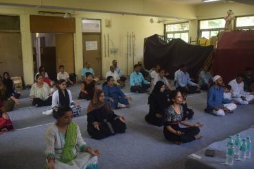 Yoga Day Photo