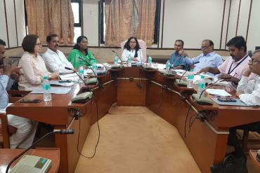 Meeting on identification of posts of AYJNISHD for PWDs in the light of RPWD act on 22-06-2019